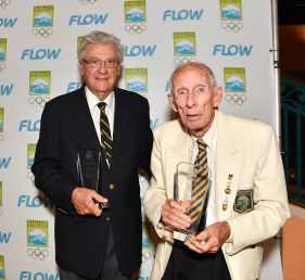 Special recognition Athletes celebrating 50 years of CAC glory. Bill & Tony Hoad in the sport of Sailing.