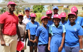 Primary school event held in Barbados to celebrate Olympic Day