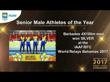Mens 4x100m Relay Team - Senior Male Athlete of the Year