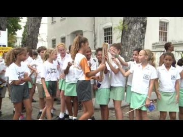 The Queen's Baton visits Barbados