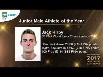 Jack Kirby - Senior Female Athlete of the Year (BOA Awards)
