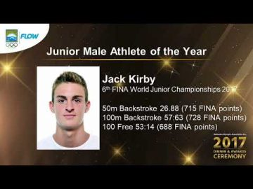 Jack Kirby - Senior Female Athlete of the Year (BOA Awards)