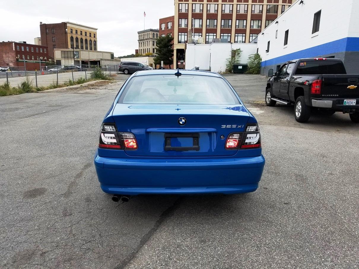 2004 BMW rear