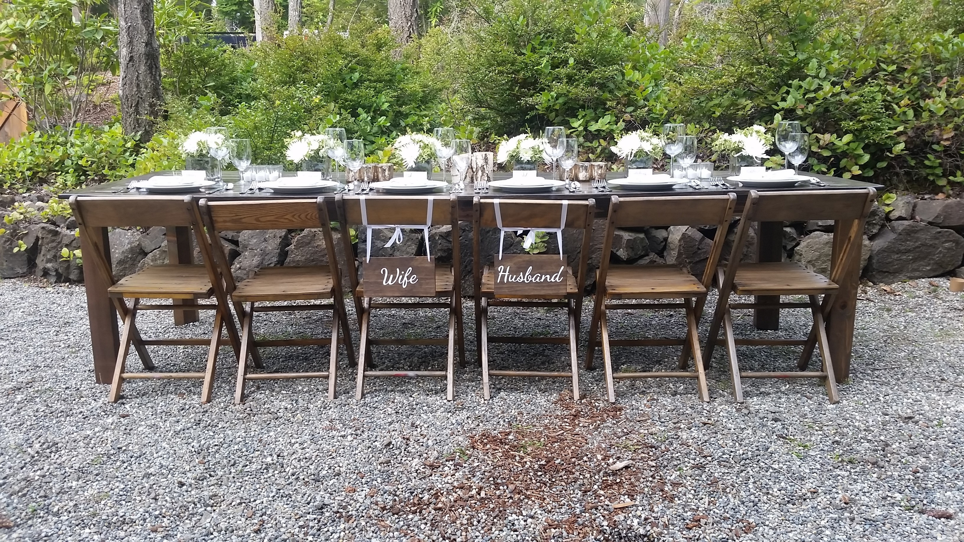 Where Can I Rent Tables And Chairs Olympic Farm Style Events Event Rentals