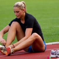 Snežana Rodić Slovenian long jumper