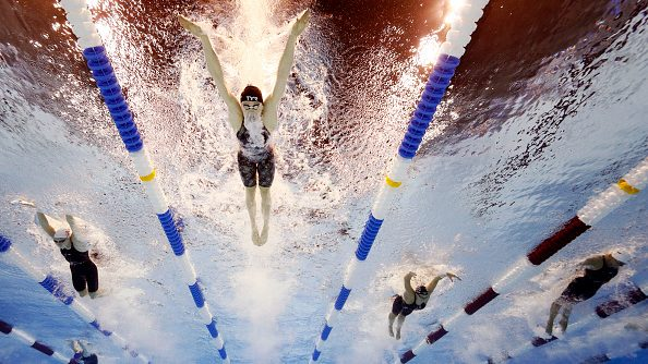 U.S. Olympic Swimming Trials results