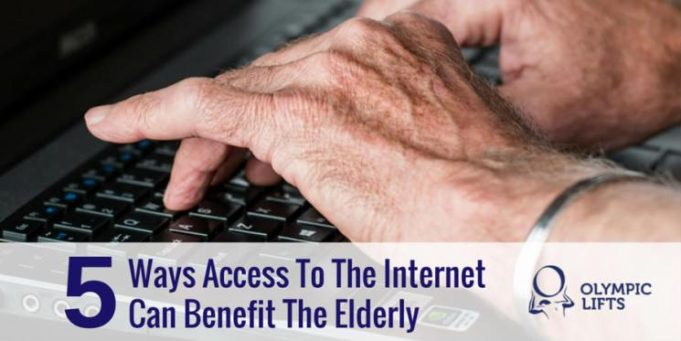 5 Ways Access To The Internet Can Benefit The Elderly | Olympic Stairlifts
