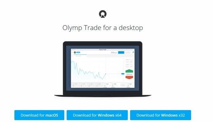 How to download and install Olymp Trade application on Windows and MacOS desktops