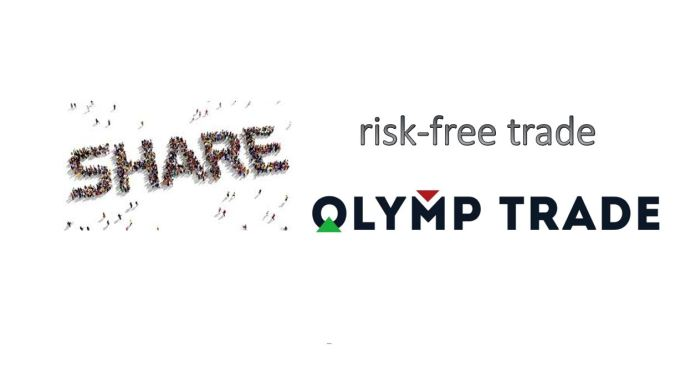 How to use the risk-free trade to earn money at Olymp Trade