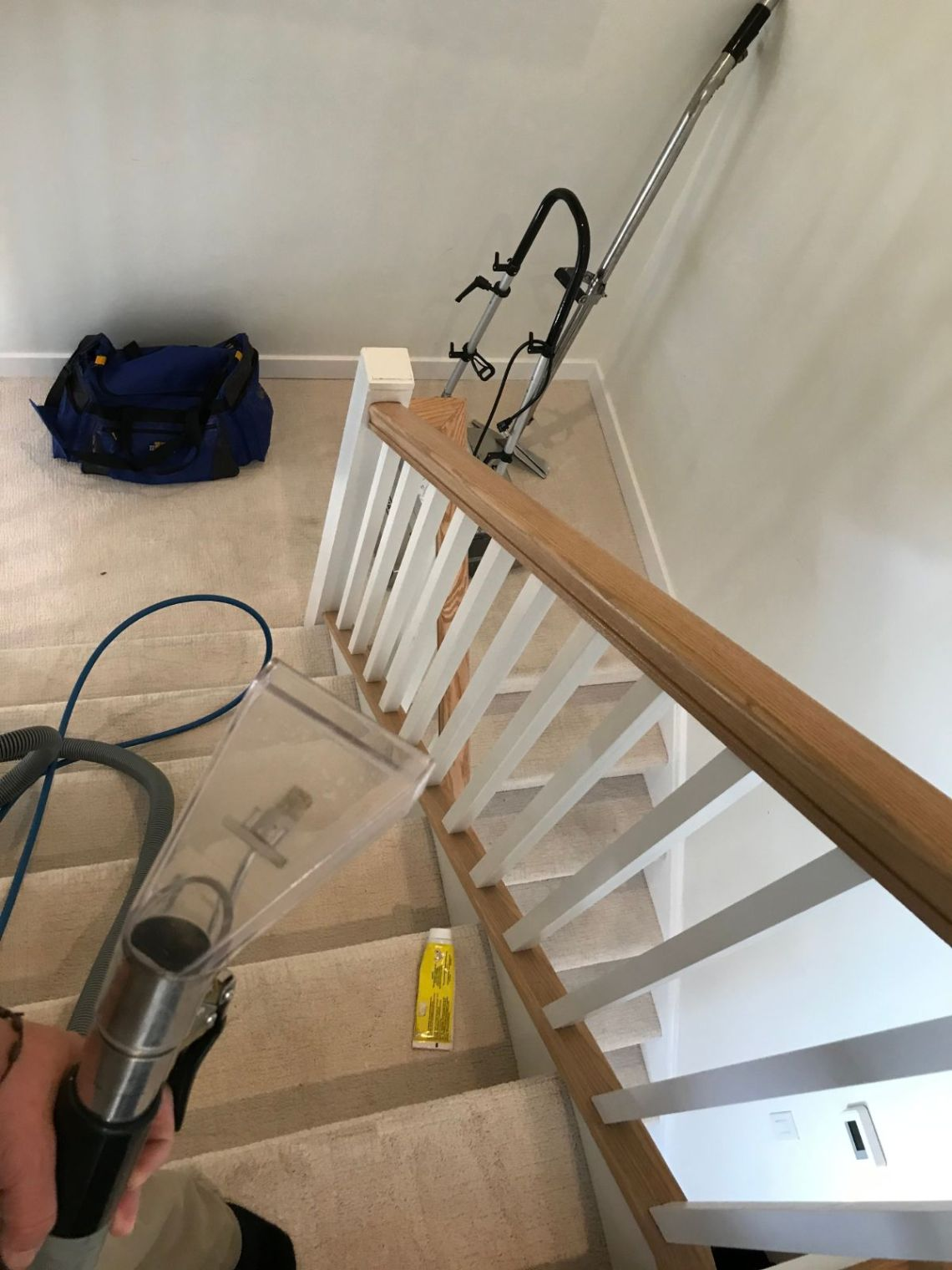 Cleaning Carpet on Stairs Bronx