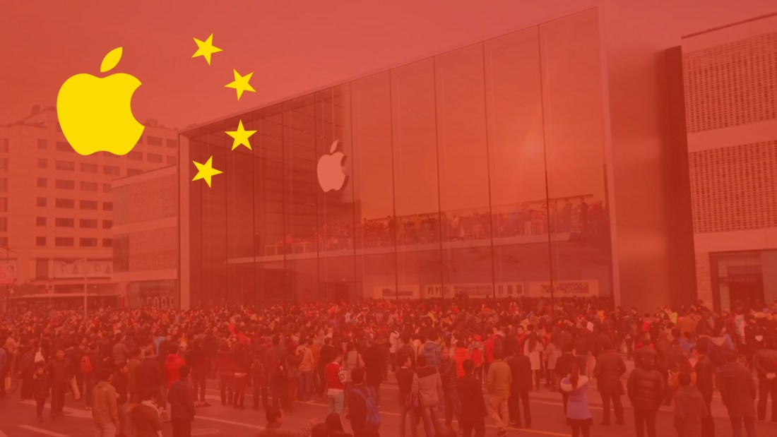 (Now) Apple is all about China