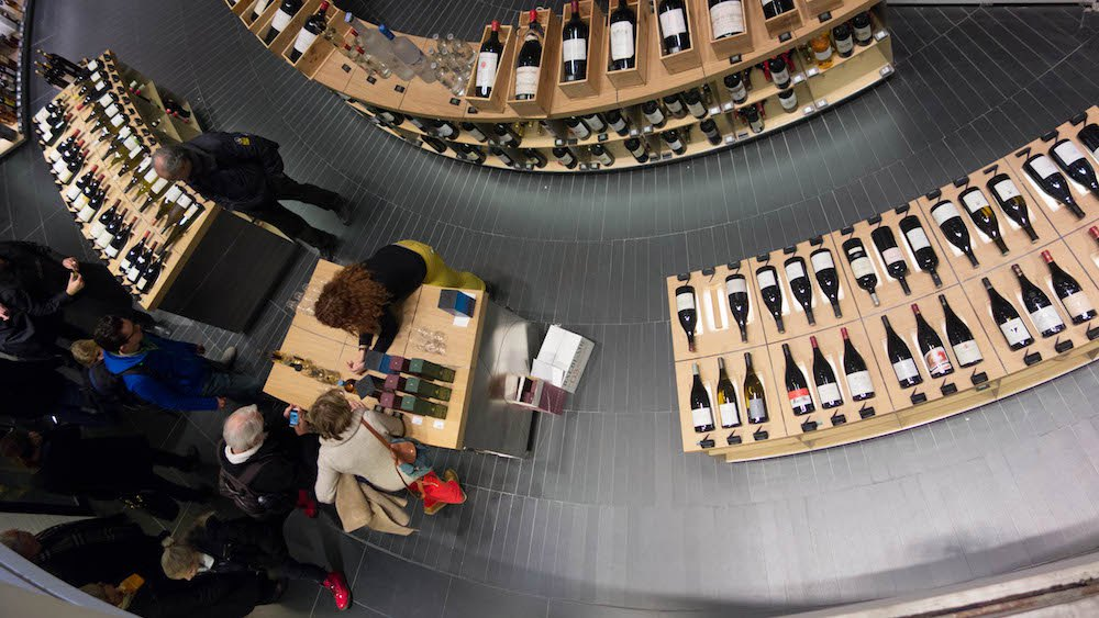 Le Bon Marche' Wine Cave Photo by Om Malik, December 2013