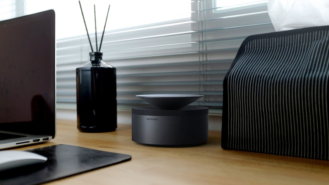 Blossom, a beautifully designed bluetooth speaker