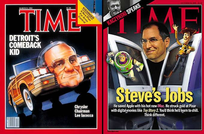 Lee Iacocca & Steve Jobs had in common