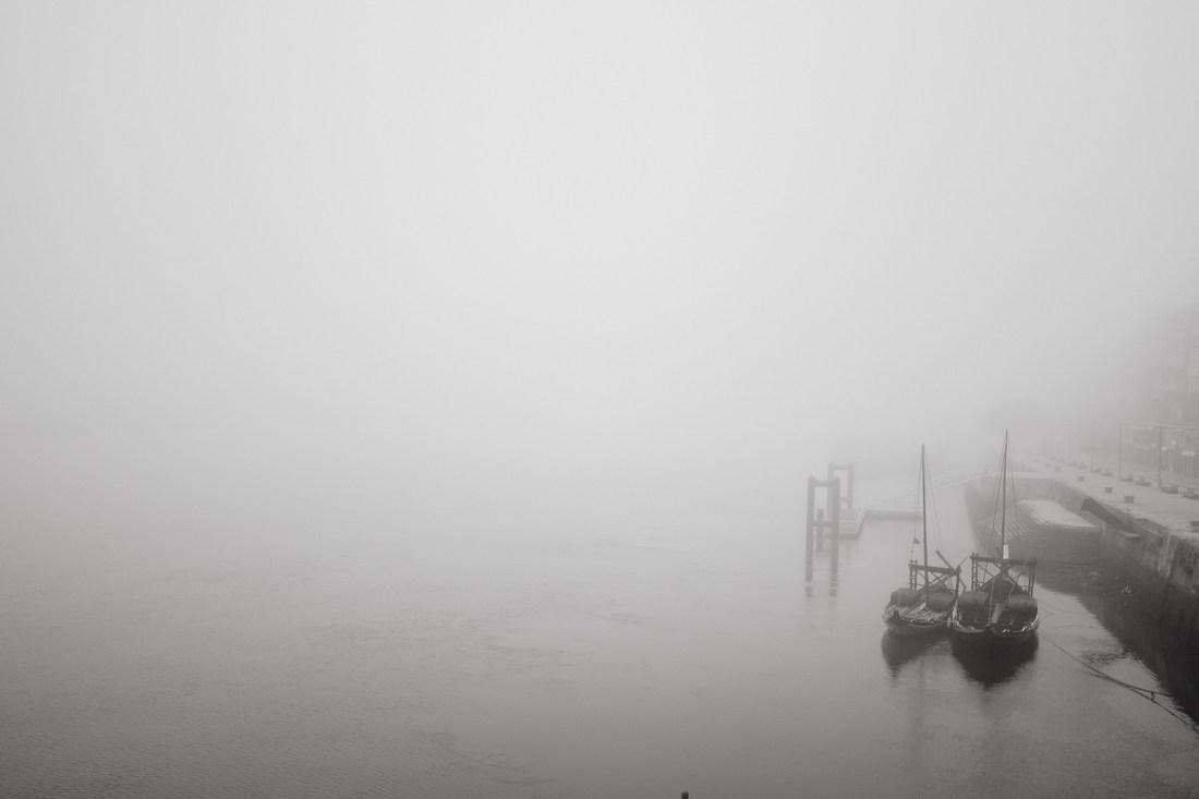 [Photo Set] Foggy in Porto