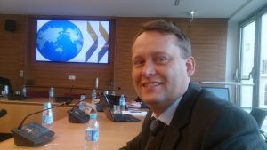 NDLA attracts a lot a international attention. Her director Øivind Høines is at a meeting with OECD in Brussels.