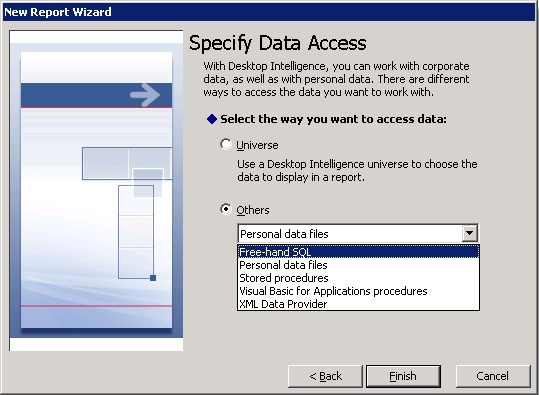 Desktop Intelligence Free Hand SQL