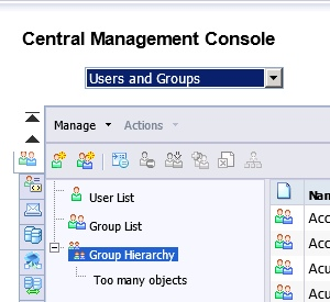 Too Many Objects in CMC