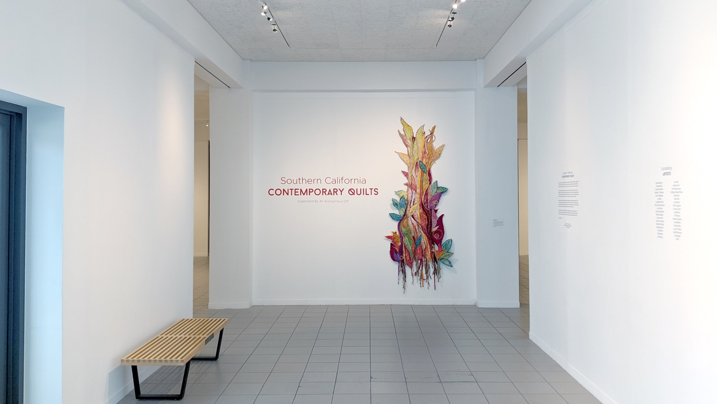 Southern California Contemporary Quilts entrance