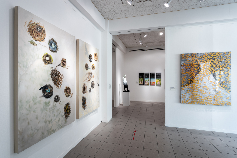 Twenty Women Artists: NOW Exhibition entrance