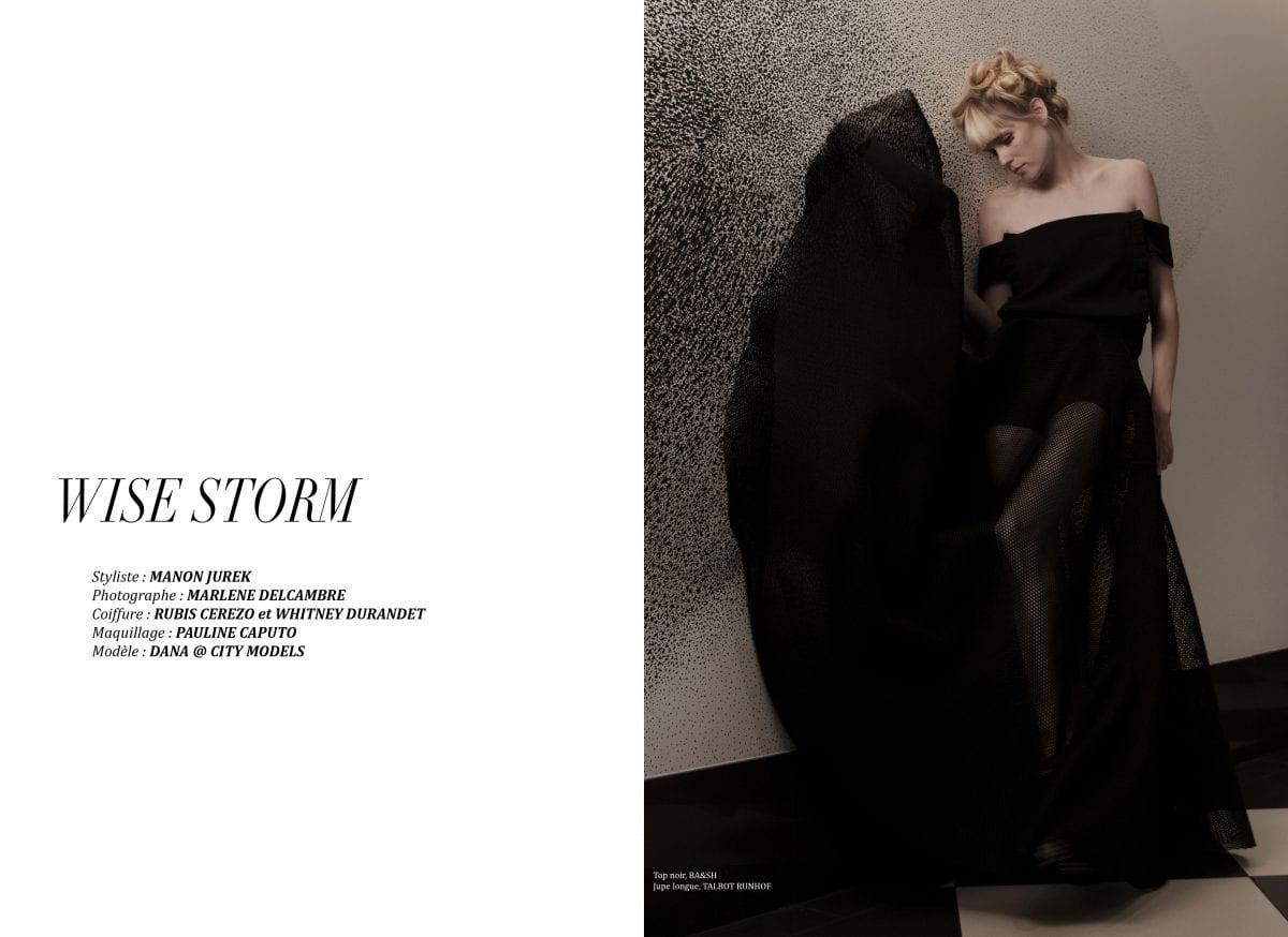 "Éditorial ""Wise storm"" par Marlène Delcambre"