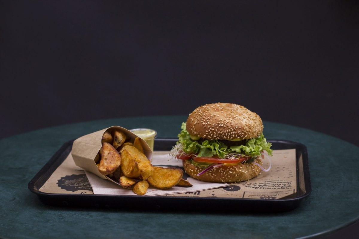Hankburger et potatoes toute la journée !