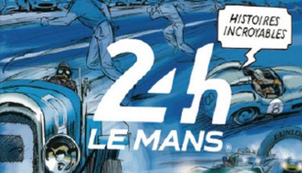 couverture de la bande dessinée 24h du Mans