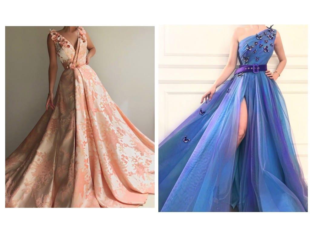 Haute couture de Teuta Matoshi.