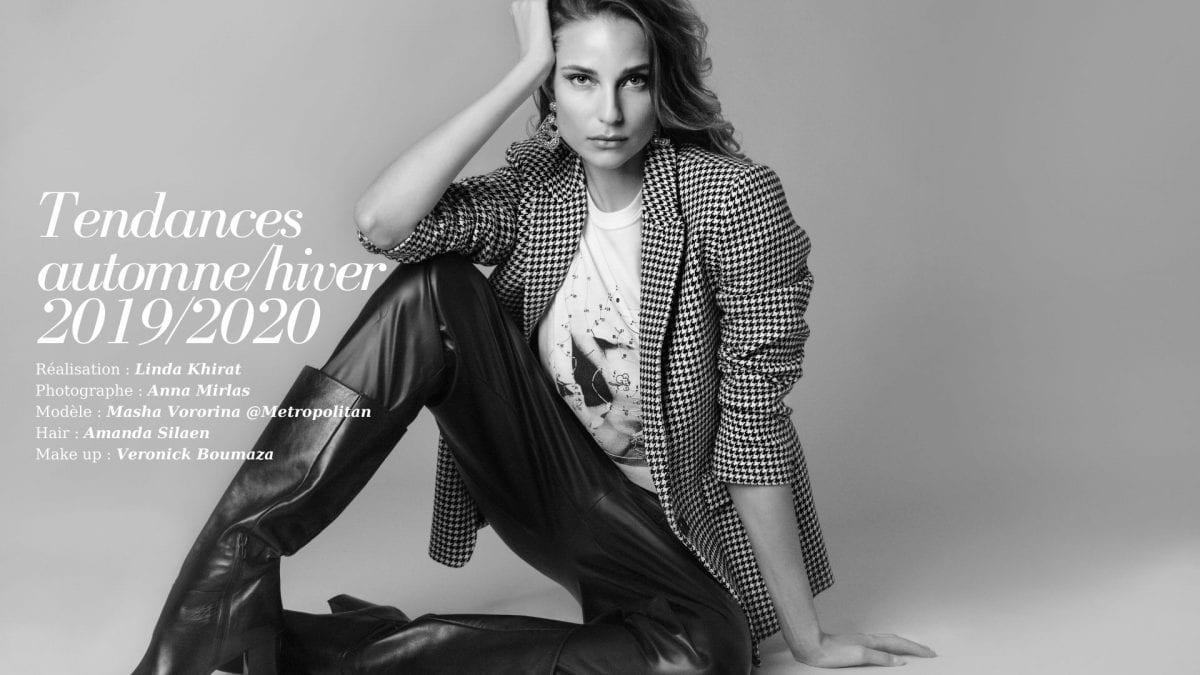 Tendances Automne:Hiver 2019-2020, éditorial par Linda Khirat 00000