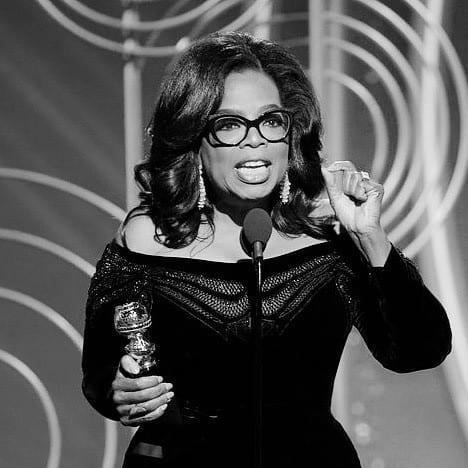 Oprah au golden globe