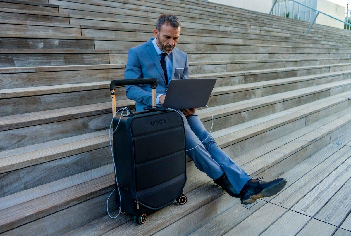 La valise connectée Kabuto : une révolution du voyage !