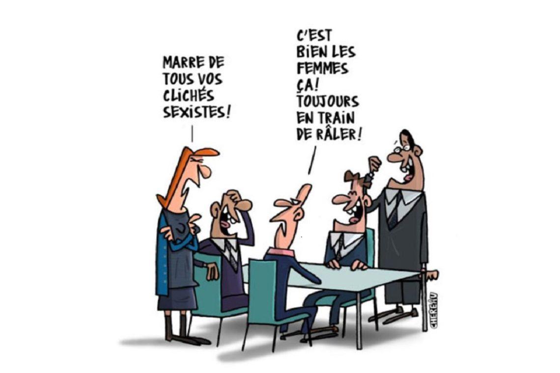 Le sexisme en bulles : Sexiste, moi ? d'Antoine Chereau