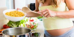 femme enceinte alimentation équilibrée fruits légumes