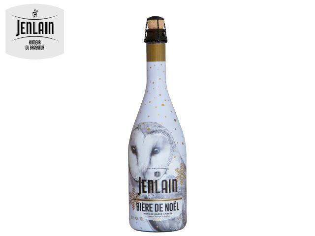 Bière de Noël de la marque Jenlain.