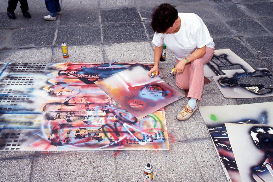 Femmes et street art en France, le parcours de Nice Art