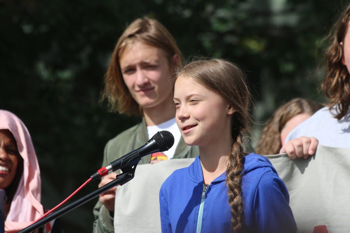Prenez la parole en public comme Greta Thunberg