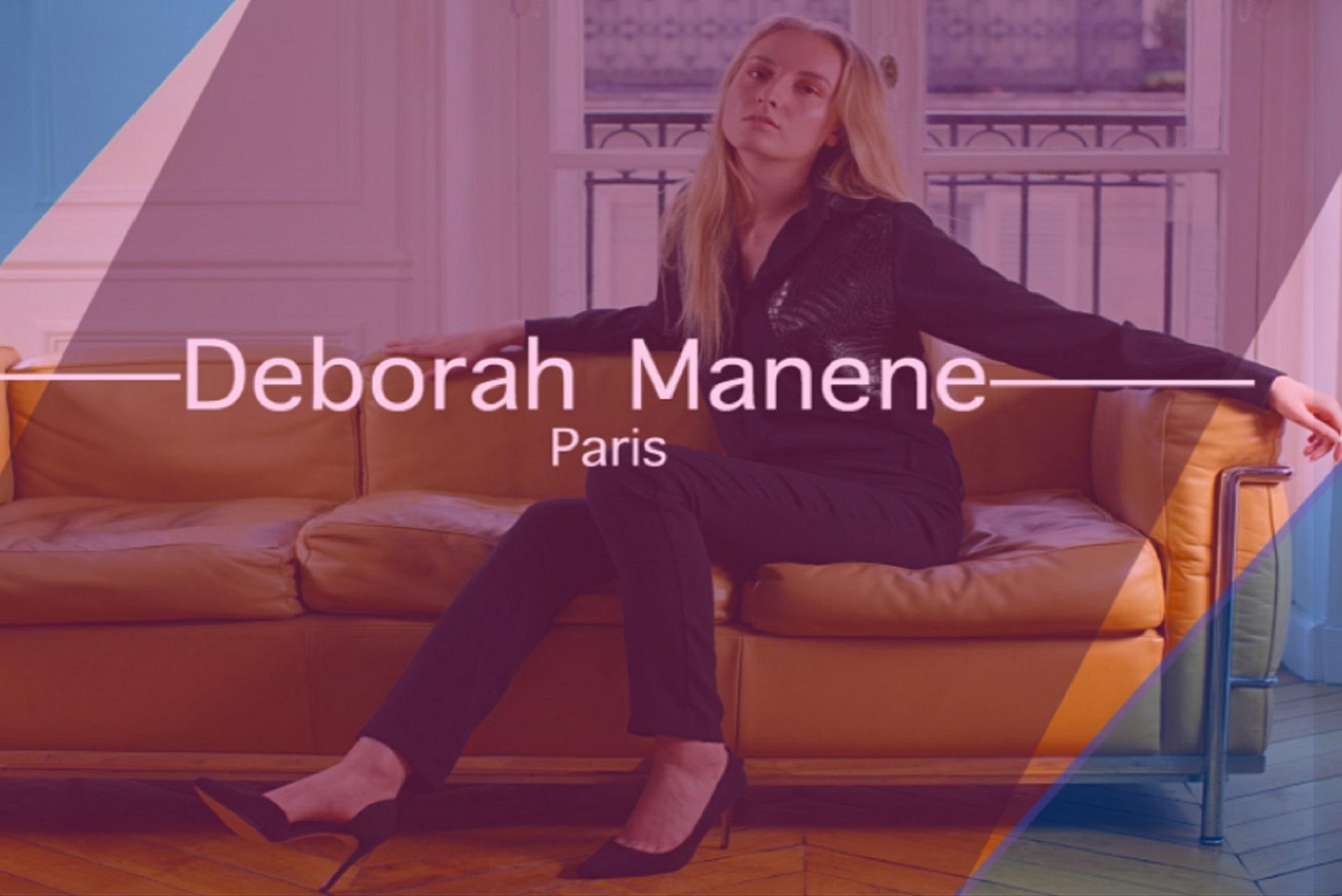 Déborah Manene, styliste française
