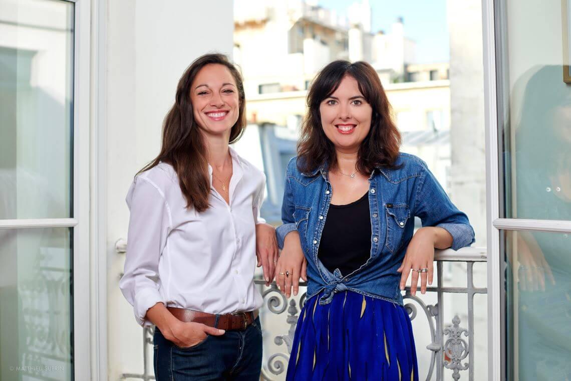 Les auteures Magali Perruchini et Marjorie Llombart.