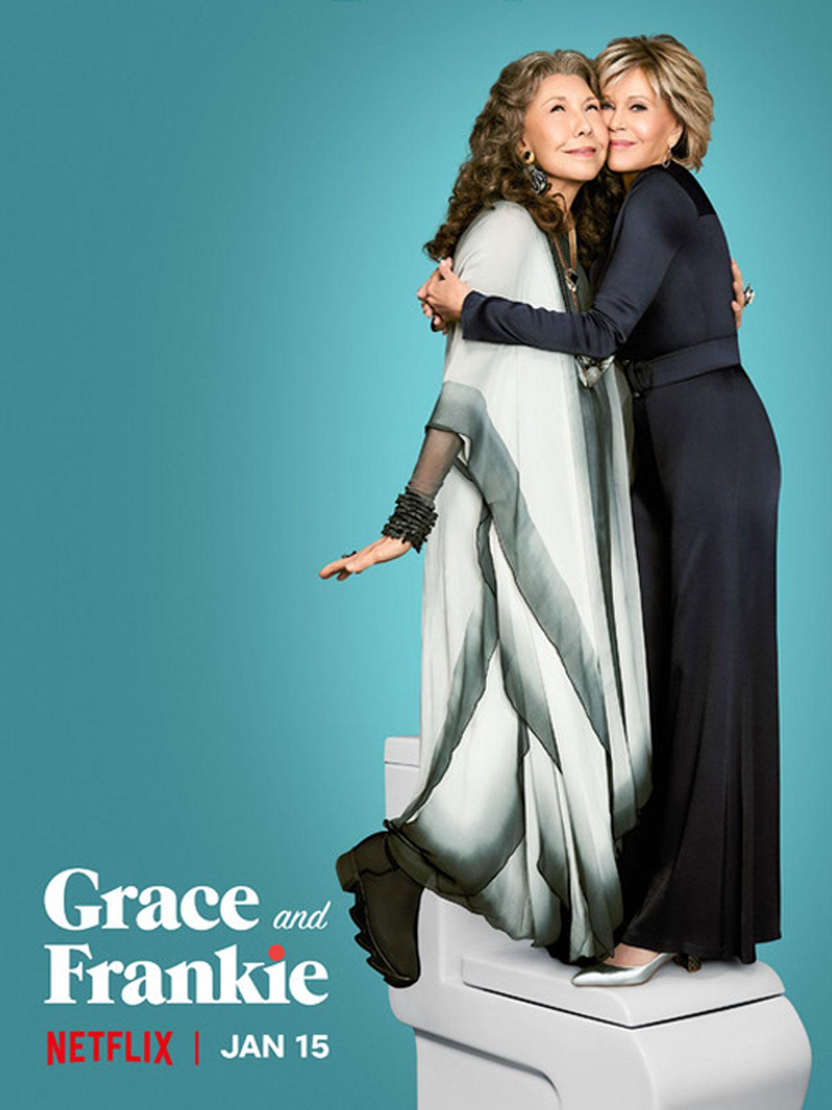 Grace and Frankie on Ô magazine