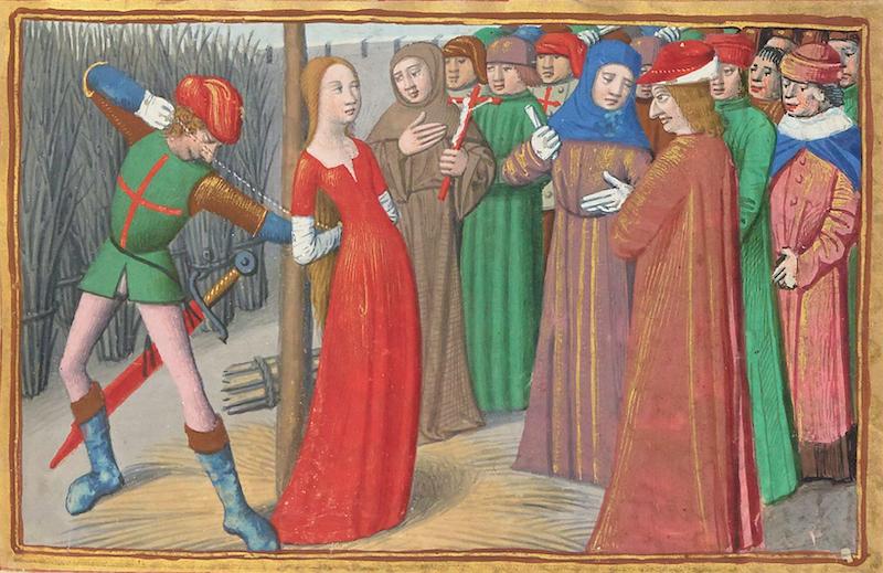 """Notons d'ailleurs qu'on compte dans les accusations envers Jeanne d'Arc """"devineresse"""" lors de son procès en 1431."""