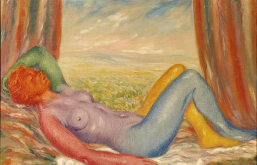 La Moisson de René Magritte, 1943