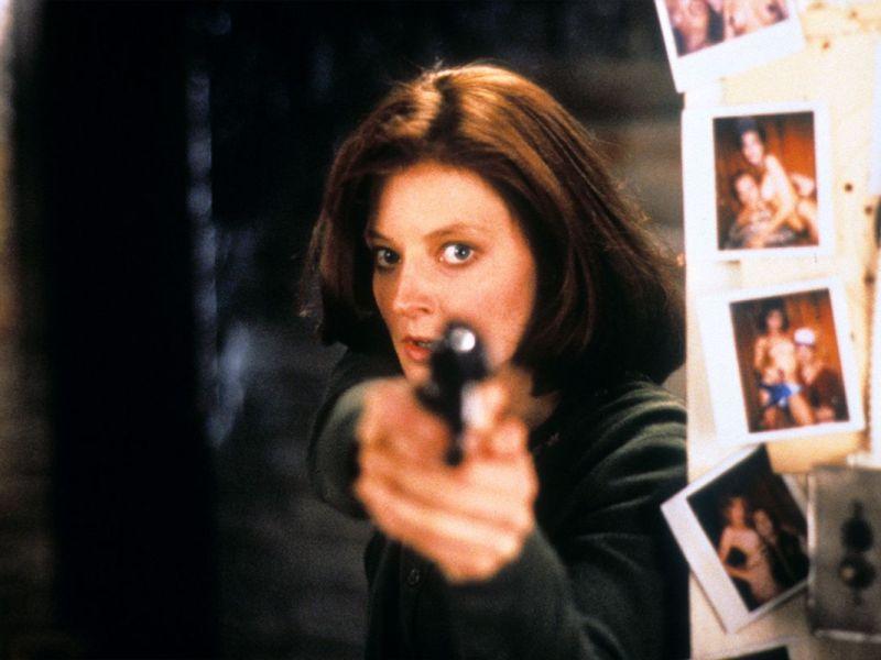 Les héroïnes iconiques du cinéma - Jodie Foster dans le rôle de l'agent du FBI Clarice Starling.