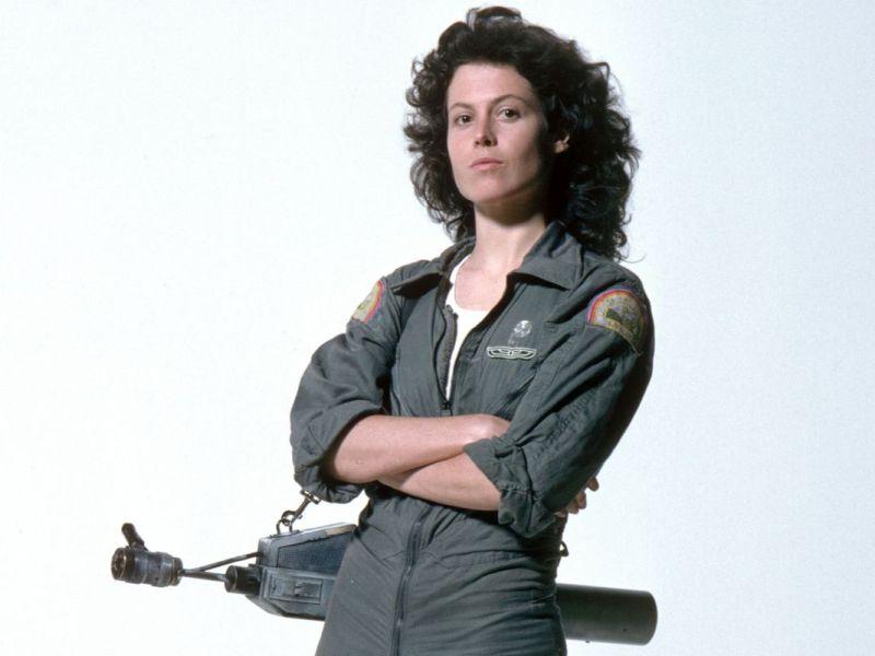 Sigourney Weaver dans Alien.