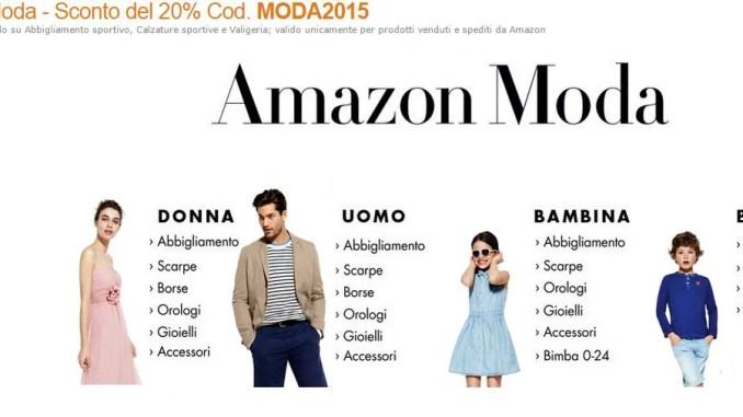 Buono Sconto Amazon Moda