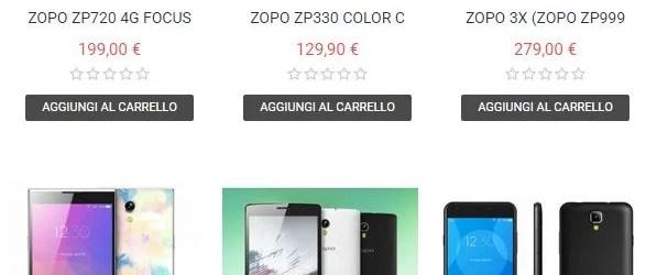 Buono Sconto Zopo Mobile Italia