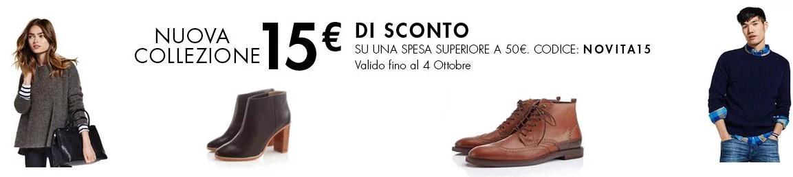 Codice sconto amazon moda da 15 euro for Codici sconti amazon