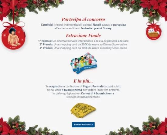 Il mio Natale, Il mio Yogurt Concorso Parmalat