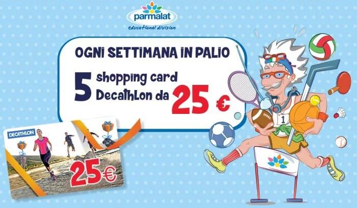 Concorso Parmalat Strampalat: buoni Decathlon da 25 euro in palio