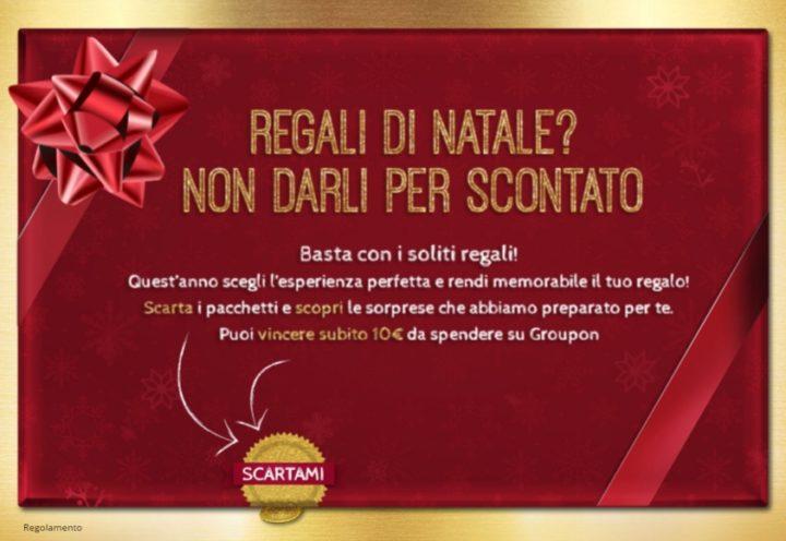 Groupon Regalo Come Funziona.Regali E Natale Con Groupon Vinci Buoni Da 10 Euro Omaggi Net