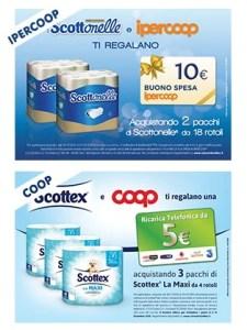 Scottonelle e Ipercoop ti regalano 10 €